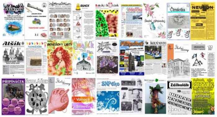 Školní časopisy